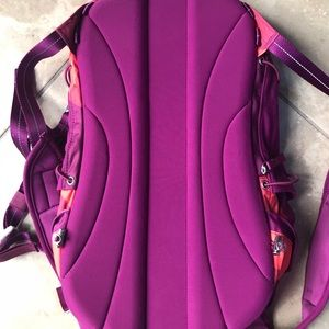 lululemon athletica Bags - LULULEMON fuschia and pink book bag- small GUC